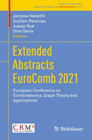 Extended Abstracts EuroComb 2021 book cover